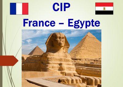 France – Egypte