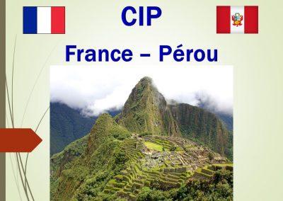 France – Pérou