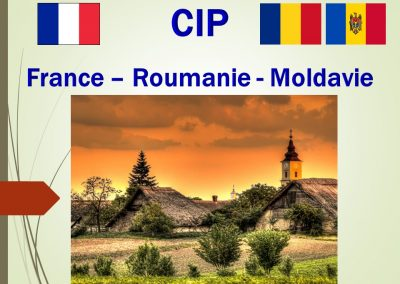 France – Roumanie – Moldavie